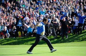 pictures of the year: Ryder Cup 2010 day four