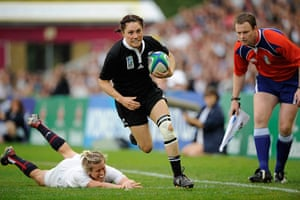 pictures of the year: England v New Zealand womens rugby