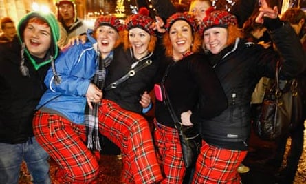 New Year's Eve revellers: don't go out of your way to dress like a fool.