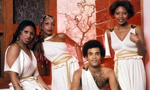Bobby Farrell with Boney M in 1980 Photograph  Sunshine Retna Pictures 1efb47dbd88