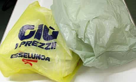 Italian shopping bags