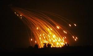 US marines prepare for Fallujah offensive
