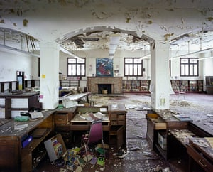 Ruins of Detroit: St Christopher House, ex-Public Library