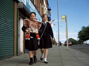 Cradle of the Game: Liverpool 'Two girls leaving the newsagents'