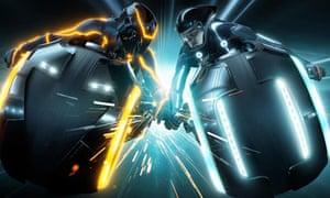 Tron Legacy film still
