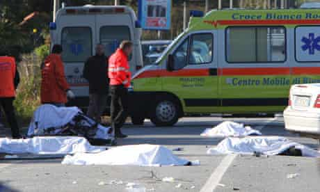 cyclists killed in Italy
