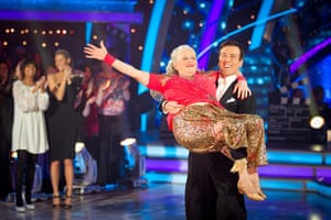 Anne Widdecombe dancing: Anne Widdecombe on Strictly come dancing