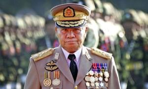 Burmese ruler Than Shwe