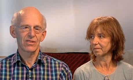 Linda Norgrove's parents