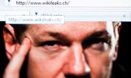 Browser showing WikiLeaks home page after move to Switzerland