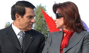 Zine el Abidine Ben Ali and Leila Trabelsi