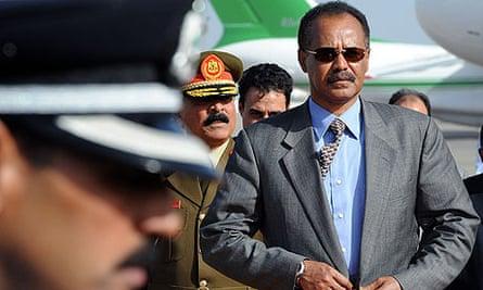 Isaias Afwerki, Eritrea president