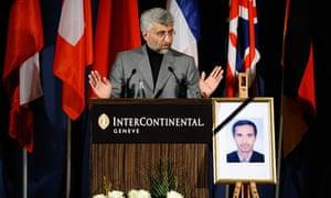 Iran's chief negotiator, Saeed Jalili