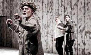 Derek Jacobi as King Lear
