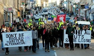 Student Protests in Bristol
