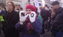 Leeds student protest