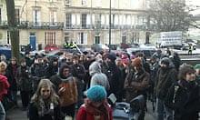 Bristol student protest
