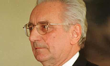 Franjo Tudjman, former president of Croatia