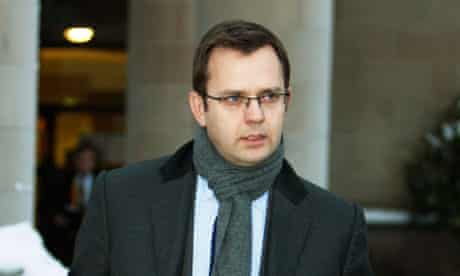 Andy Coulson at the trial of Tommy Sheridan