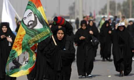 Shia pilgrims in Baghdad