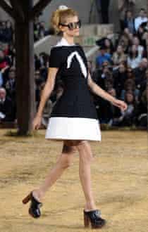 Chanel clogs at Paris fashion week