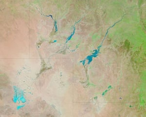 Satellite Eye on Earth: Floods in southwestern Queensland, Australia