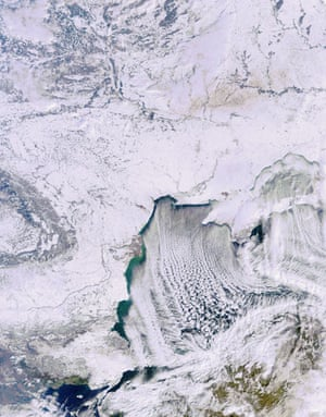 Satellite Eye on Earth: A deep freeze has gripped southeastern Europe