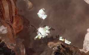 Satellite Eye on Earth: The Salar de Atacama in Chile