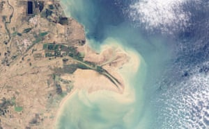 Satellite Eye on Earth: China's Huang He (Yellow River)