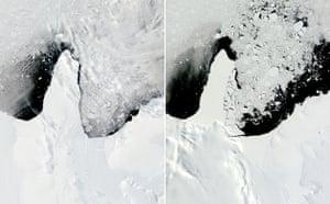 Satellite Eye on Earth: Ronne-Filchner Ice Shelf, Antarctic