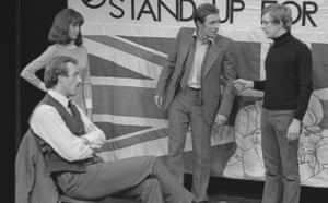 John Nettles in 1976 play Destiny