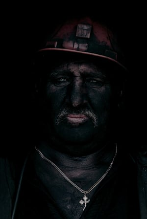 Ukrainian miners: Ukrainian miners