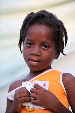 Haiti - What I saved: Nairssa Luma's mother saved playing cards