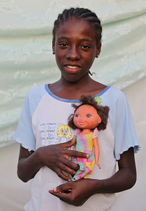Haiti - What I saved: Rebecca Voltaire saved a doll