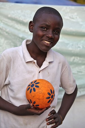 Haiti - What I saved: John Richardson Estimable saved a toy ball