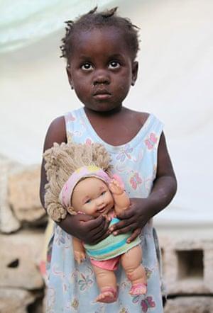 Haiti - What I saved: Esther Bertrand saved her doll