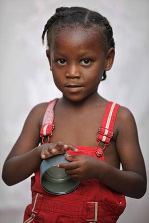 Haiti - What I saved: Tarah Cadet's mother saved a pot and a metal bowl