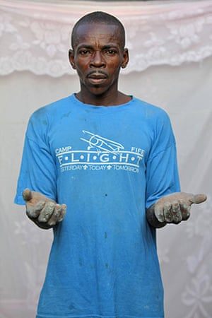 Haiti - What I saved: Guyteau Colin was not able to save anything