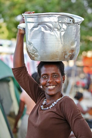 Haiti - What I saved: Bourbon Roseline saved a large pot