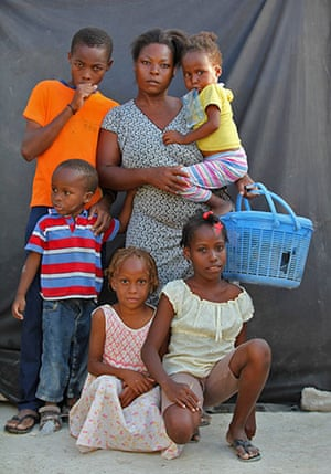 Haiti - What I saved: Anise Cange saved a basket so she can save food for her children