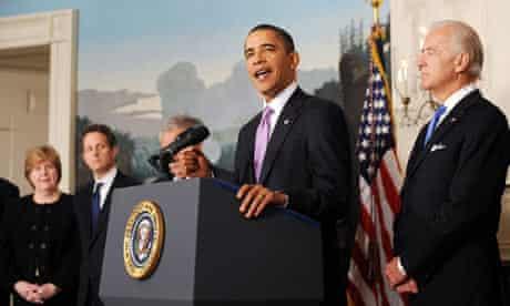 President Obama Annonces Measures To Limit Bank Size, Washington DC, America - 21 Jan 2010