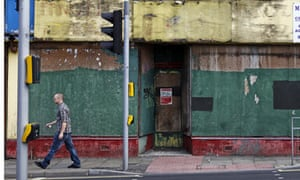 Vacant shop in Radford, Nottingham