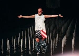 Alexander McQueen: 1999: Alexander McQueen drops his pants Spring 2000 collection in New York