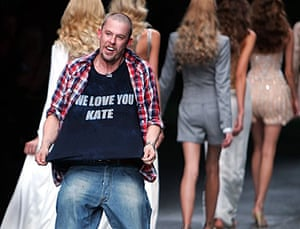 Alexander McQueen: 2005: Alexander McQueen Spring/Summer 2006 Kate Moss T-Shirt