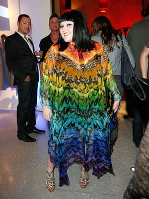 Alexander McQueen: 2008: Alexander McQueen Store Opening Beth Ditto
