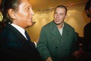 Alexander McQueen: 1996: Valentino With Alexander McQueen