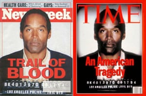 Photoshop at 20: OJ Simpson on the cover of Newsweek and Time magazines