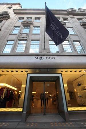 Alexander McQueen's shop