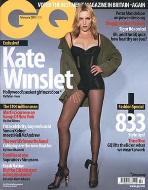 Photoshop at 20: Kate Winslet on the cover of GQ magazine Feb 2003 Photoshop
