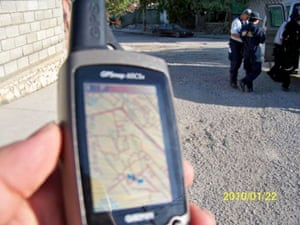 OpenStreetMap being used on a GPS unit for search and rescue in Haiti by Fairfax County Urban Search & Rescue Team